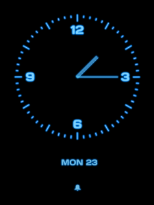 On5 analog clock